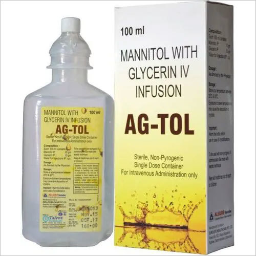 mannitol 10 gm + glycerin 10 gm Infusion
