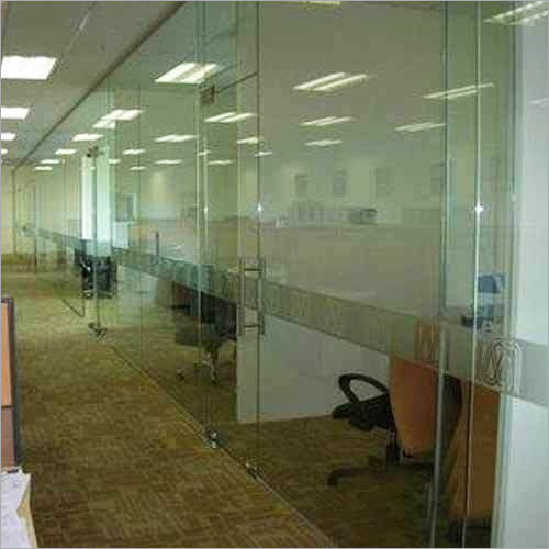 Office Glass Partition 10m.m. Tuffend