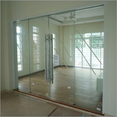 12 m.m. Tuffend Glass Door