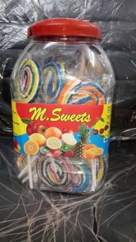 Jalebi lollipop