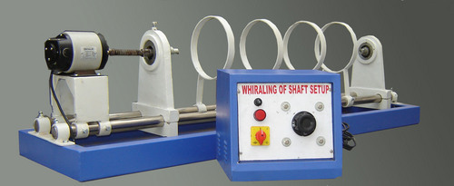 Whirling of shaft demonstrator