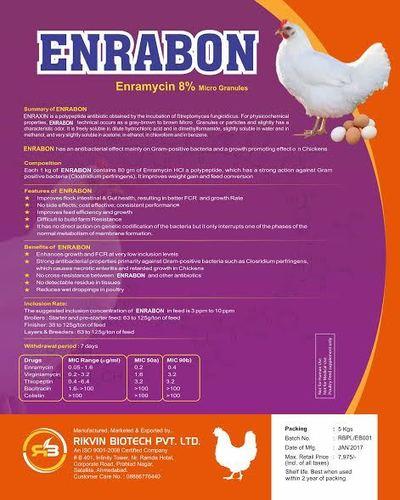 Enramycin 8% Granules