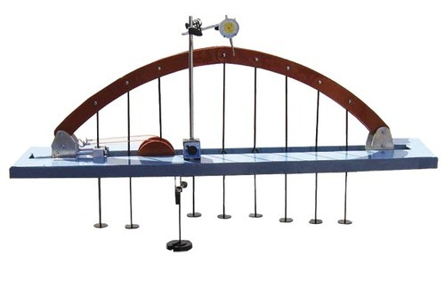 3 hinged arch apparatus