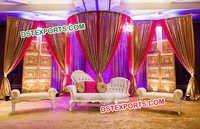 Pakistani, Nikah Wedding Stage