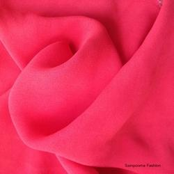 Viscose Crepe Plain Fabric