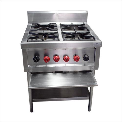 Commercial Four Burner Cooking Range