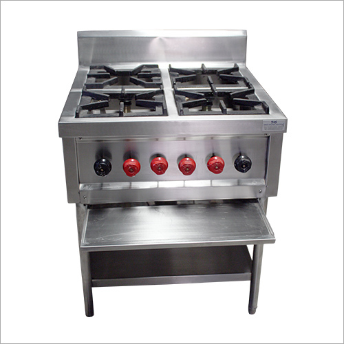 Commercial Four Burner Cooking Range