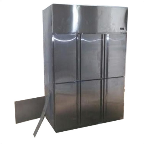 Six Door Commercial Kitchen Refrigerator