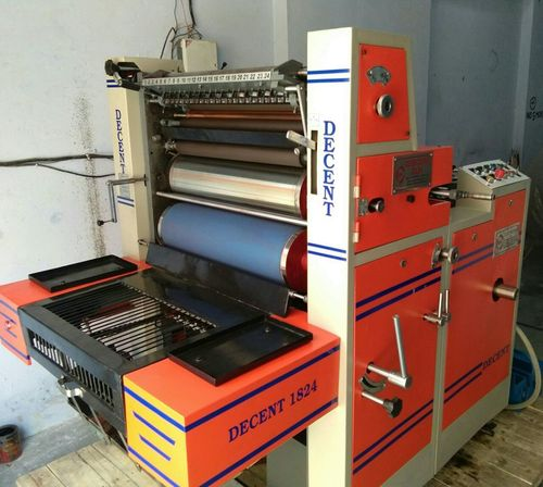 D Cut Non Woven Bag Printing Machine