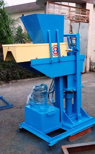 Hydraulic Interlocking Block Machine