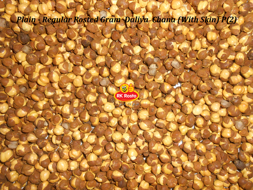 Rosted Chana Gram Daliya With Skin Regular Plain