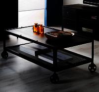 Metalica Dark Coffee Table