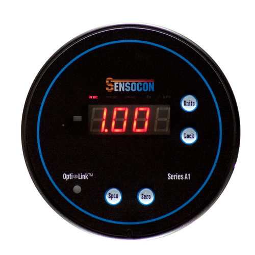 Digital Differential Pressure Gauge - Series A1