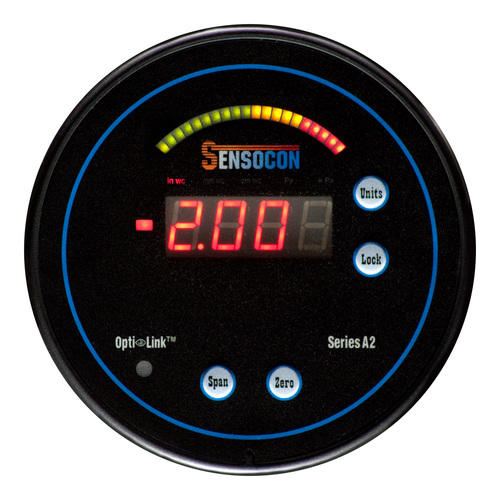 Digital Differential Pressure Gauge - Series A2