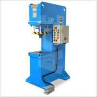 Hydraulic Press With Automation PLC Base