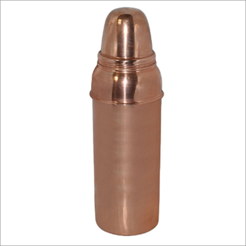 Handmade Copper Thermos water Bottle