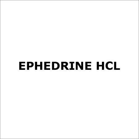 Ephedrine HCL