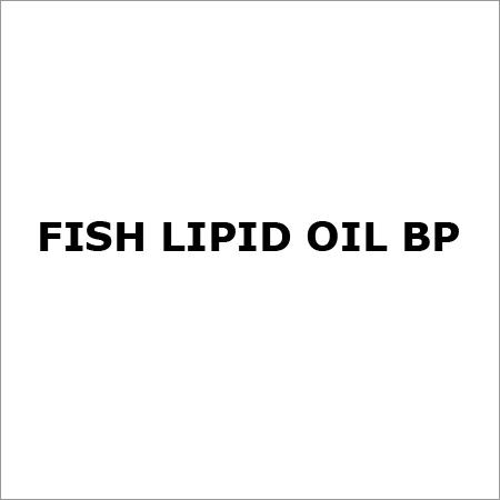 Fish Lipid Oil BP