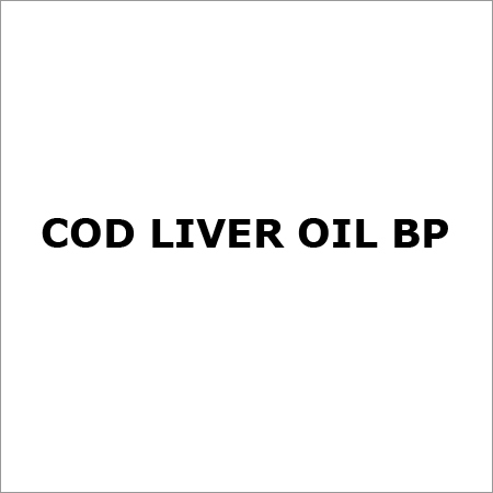 Cod Liver Oil BP