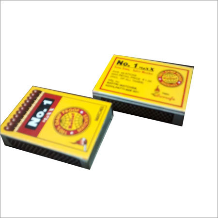 Cardboard Safety Matches