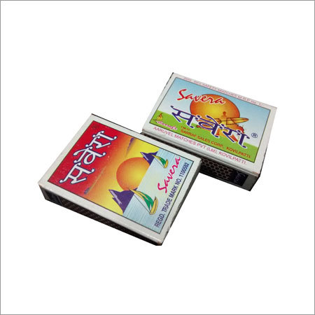 Savera Safety Matches Box
