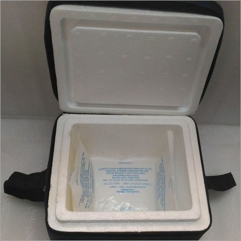 Insulated Bag with gel pack and outer corrugated box