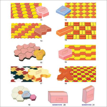 Designer Paver Block Mould