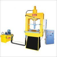 Vibro With High Pressure Paver Block Making Machine