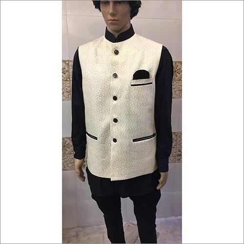 Floral Nehru Fancy Jackets