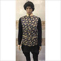 Floral Nehru Fancy Jackets