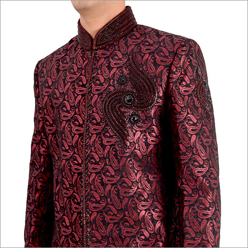 Indo Western Plus Designer Sherwani