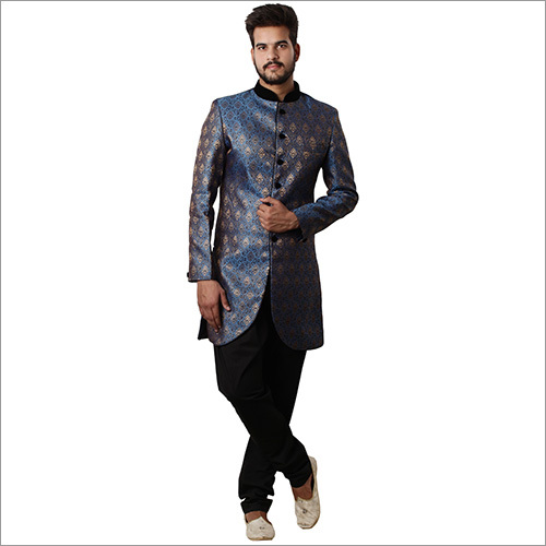 Indo Western Plus Wedding Sherwani