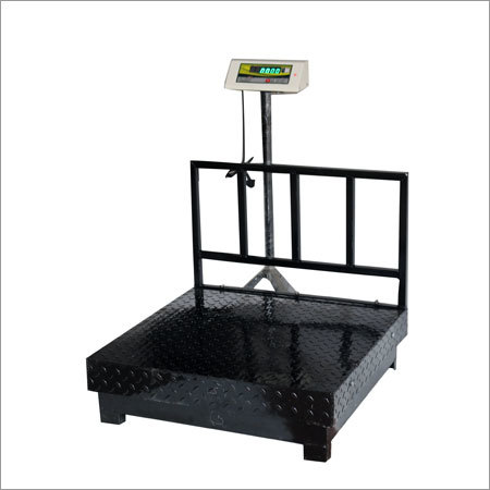 Heavy Duty M.S. Weighing Machine