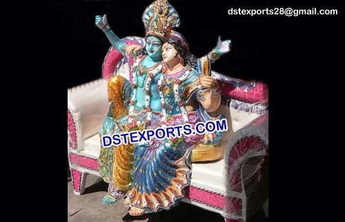 Radha Krishan Statue For Wedding Decoration
