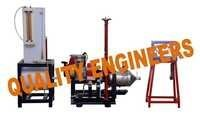 Single Cylinder Four Stroke Petrol Engine Test Rig With Eddy Current Dynamometer