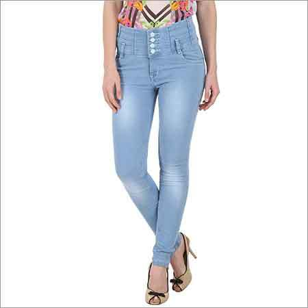 Ladies High Waist Denim Jeans
