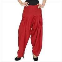 Ladies Red Patiala Salwar