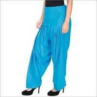 Ladies Blue Patiala Salwar
