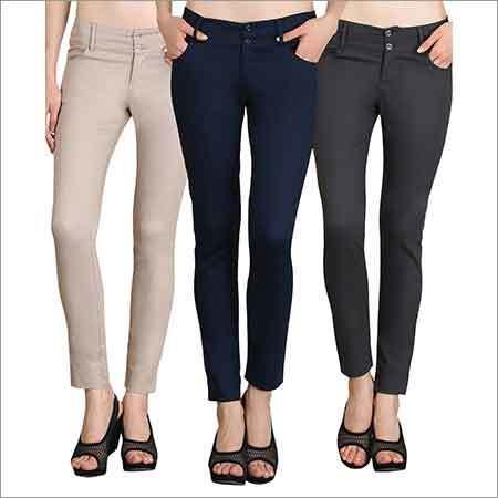 Ladies Plain Trouser