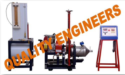 Single Cylinder Four Stroke Petrol Engine Test Rig With Rope Brake Dynamometer
