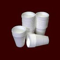 Disposable Thermocol Plain Glass