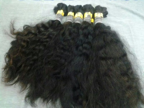BULK HAIR FOR BRAIDING CURLY
