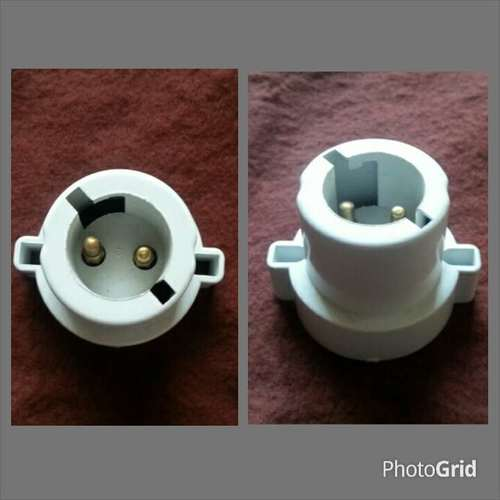 Lamp Holder GLS 2 Slot B22 Porcelain Type