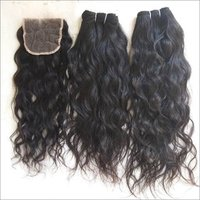 Wavy Human Hair , Unprocessed Human Hair Extensions