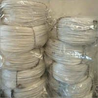 White Coil Polyester Rope