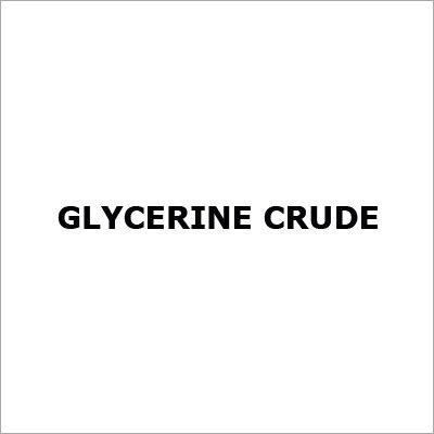 Glycerine Crude