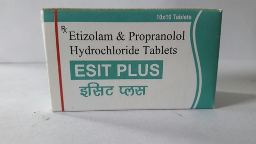 Esitazolam And Propanolol