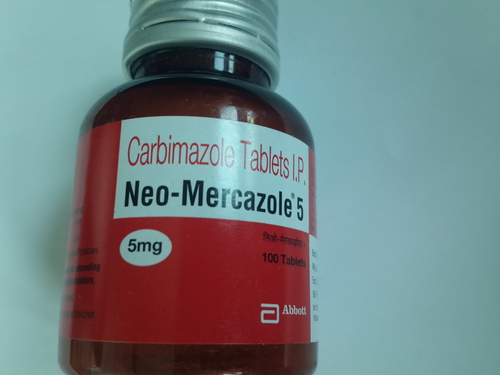 Neo- Mercazole 5 (Carbimazole Tablets I.P)