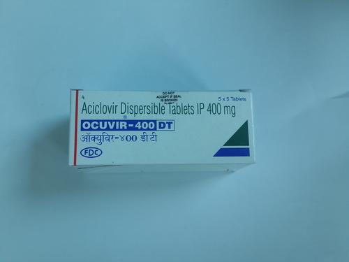 Ocuvir - 400 DT Aciclovir Dispersible Tablet