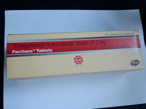 Pacitane Tablets(Trihexyphenidyl Hydrochloride Tablets I.P)